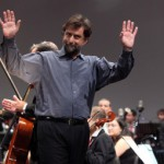 Nanni Moretti con l'Orchestra della Toscana