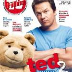 Mark Wahlberg e Ted in copertina su Film Tv