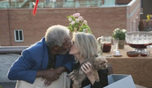 morgan freeman e diane keaton in ruth & alex