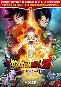 DRagon Ball Z la resurrezione di F