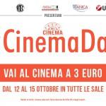 #Cinemadays. Quattro giorni di film a 3 euro