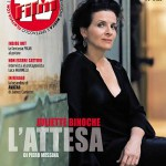 Juliette Binoche in copertina su Film Tv