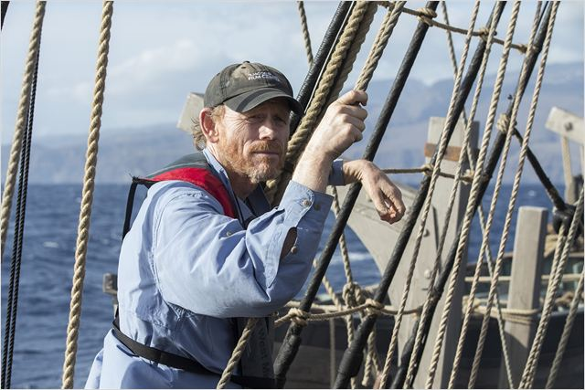 ron howard sul set di in the heart of the sea