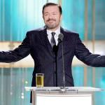 Ricky Gervais tornerà a presentare i Golden Globe