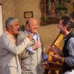 Massimo Boldi e Biagio Izzo, genitori contro per il Matrimonio al Sud