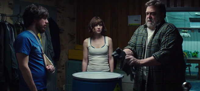 J J Abrams Produce Cloverfield Lane Poster E Trailer