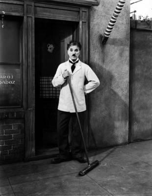 Il grande dittatore, Chaplin