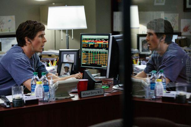 Christian Bale in The Big Short, di Adam McKay