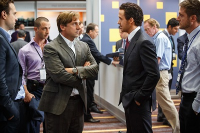 steve carell e ryan gosling in The Big Short