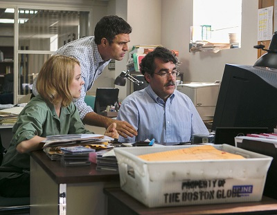 brian d'arcy, james mark ruffalo, rachel mc adams in il caso spotlight