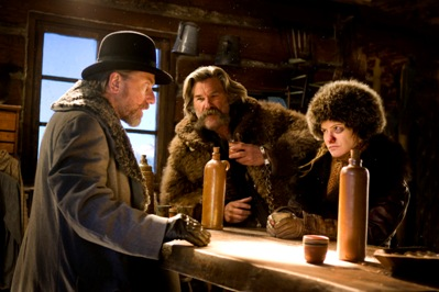 tim roth, kurt russell e jennifer jason leigh in the hateful eight