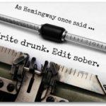 Blog STORY – Scrivere in uno stato di ebbrezza