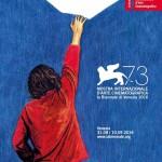 Il manifesto della 73° Mostra Internazionale d'Arte Cinematografica di Venezia