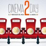 Il cinema a 2 euro ogni secondo mercoledì del mese