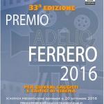 Premio Adelio Ferrero 2016 ad Alessandria