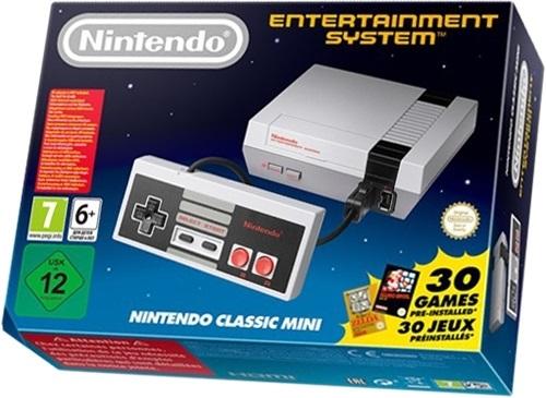 Confezione commerciale del Nintendo Classic Mini: NES
