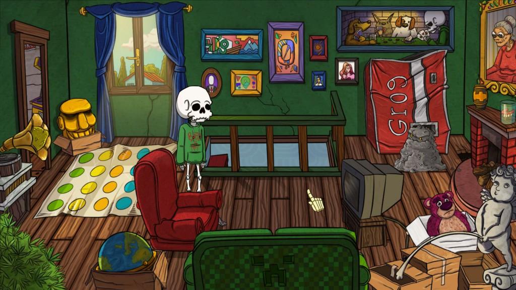Un salotto che nasconde un mostro...di polvere!