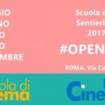 Gli Open Day della Scuola di Cinema Sentieri Selvaggi