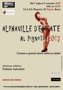 ALPHAVILLE D'ESTATE 2017