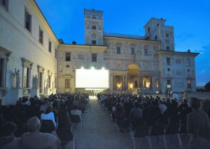villa medici cinema all'aperto