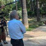 #Venezia74 – Abel Ferrara racconta Piazza Vittorio. Il backstage