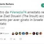 #Venezia74 – Arrestato Ziad Doueiri al rientro in Libano