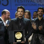 THE DISASTER ARTIST. James Franco vince la Conchiglia d'Oro a #SanSebastian65