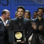 THE DISASTER ARTIST. James Franco vince la Conchiglia d'Oro a #SanSebastian65