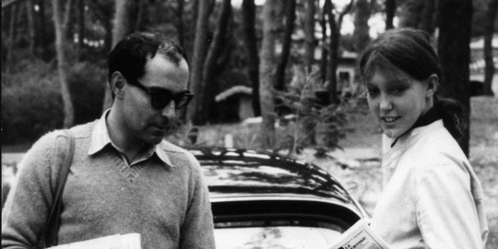 Anne Wiazemsky e Jean-Luc Godard