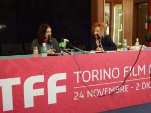 Asia Argento e Emanuela Martini