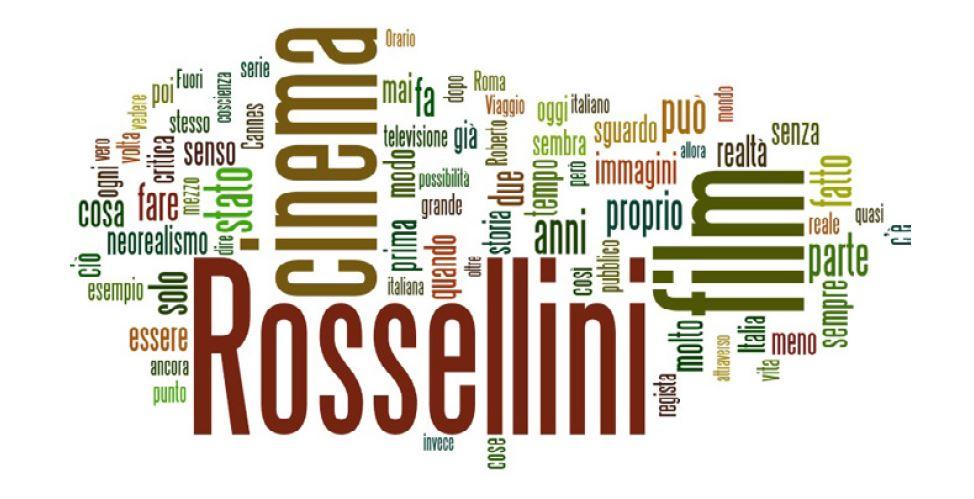 TAg Cloud Rossellini