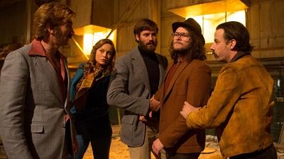 free fire Armie Hammer, Brie Larson, Jack Reynor, Noah Taylor, Sharlto Copley