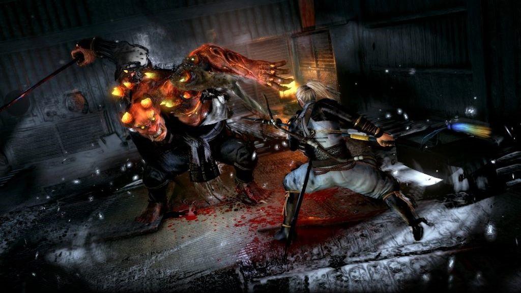 I combattimenti con i demoni del folklore giapponese costituiscono uno dei punti di forza del gioco...