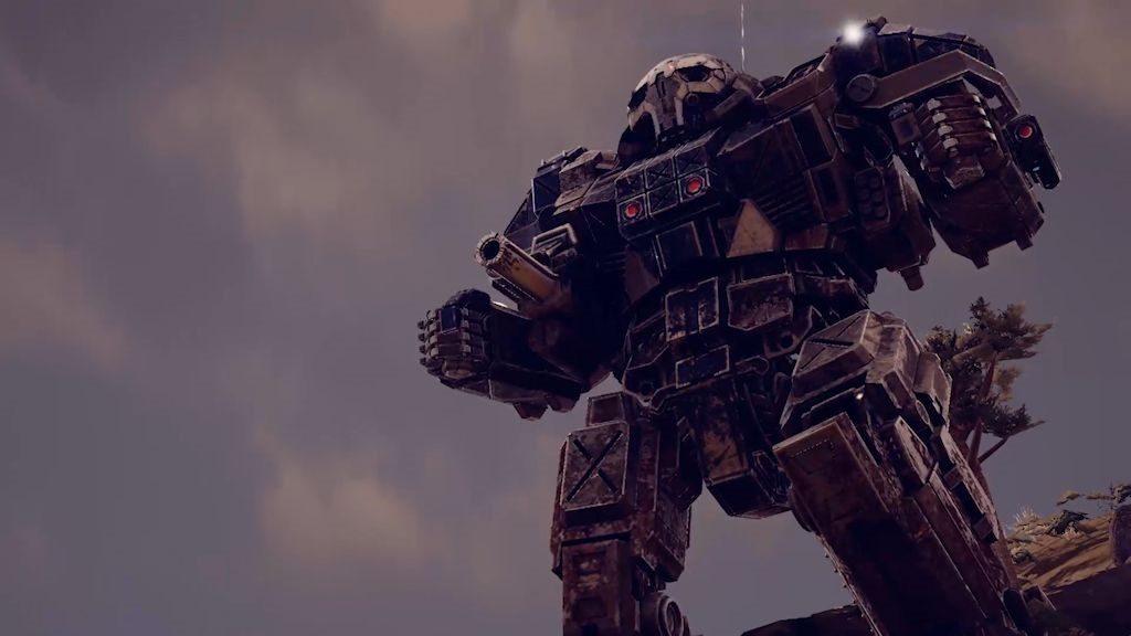 Robot giganti pesantemente corazzati e variamente armati... pensate all'effetto sorpresa nel vedervene piombare uno dietro casa all'improvviso, il cui pilota sia magari francamente incavolato...