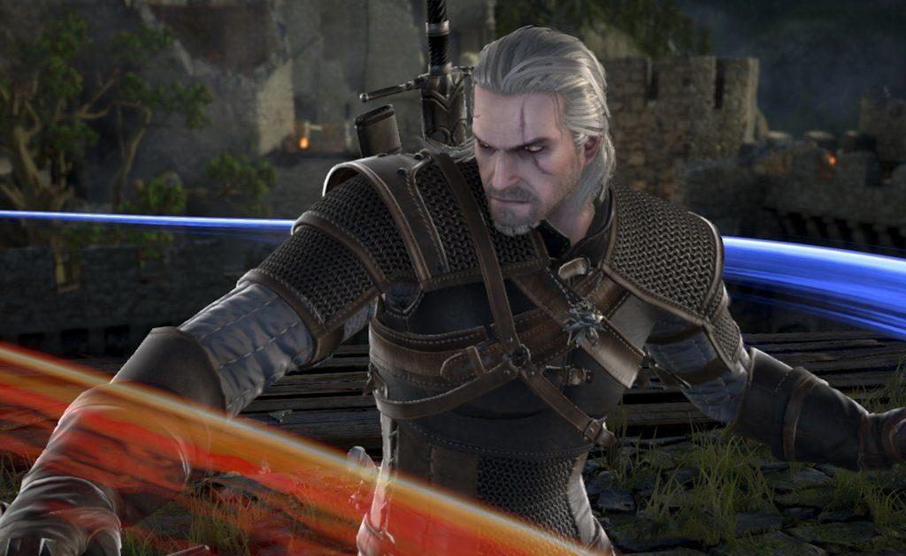 Cosa ci fa Geralt di Rivia in SOULCALIBUR VI?