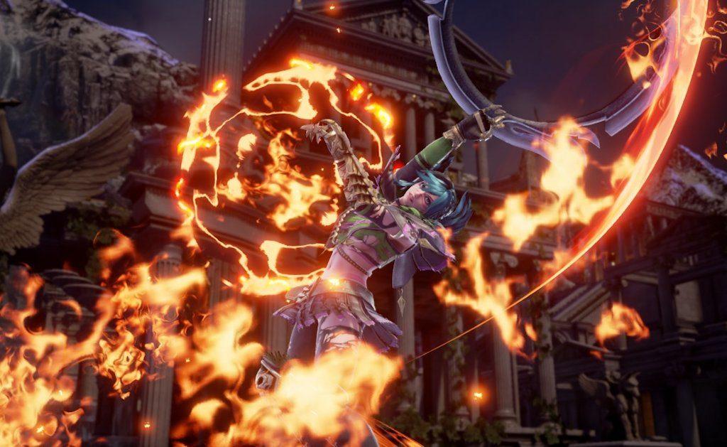 Tira, pur non essendo ricompresa tra i personaggi del roster della release iniziale, è disponibile come downloadable content a pagamento