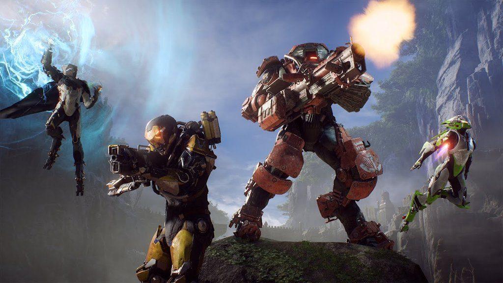 Anthem (PS4): ecco le quattro tipologie di Javelin