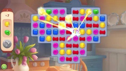 """Per risolvere i vari puzzle-game proposti, potrete sfruttare alcuni """"potenziamenti"""" derivanti da specifiche combinazioni di simboli. Ecco, ad esempio, la """"sfera arcobaleno""""..."""