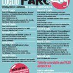 #AreneDiRoma2019 – Estate al parco – Arena Ex Lavanderia (11/20 luglio)
