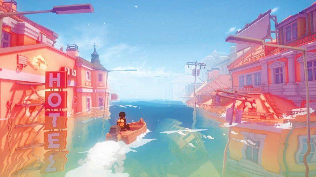 I colori pastello conferiscono alle ambientazioni di gioco un qualcosa di rilassante, rispetto ai contenuti, coinvolgenti ma alienati ed alienanti...