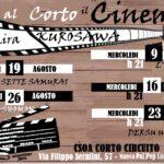 #AreneDiRoma2020 – Corto Circuito Cinema 2020 (Agosto – Settembre)