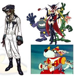Yattaman character design