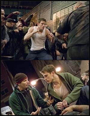 Le prime immagini dal set di Fighting