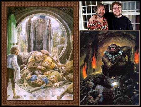 The Hobbit secondo Alan Lee e John Howe - Jackson & del Toro