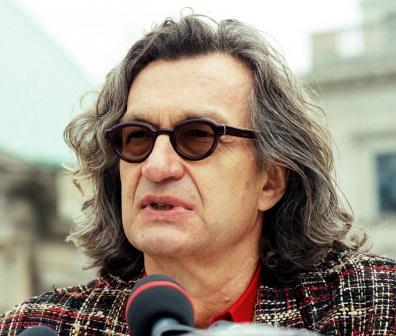 Wim Wenders - Photographer: Steffen Roth - www.droppingknowledge.org