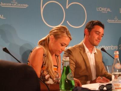 Stella e Venitucci in conferenza di