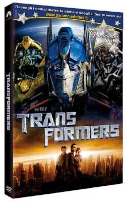 il dvd di transformers