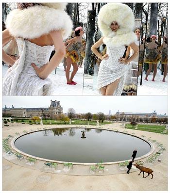 Visages di Tsai Ming-Liang, il set nel giardino delle Tuileries