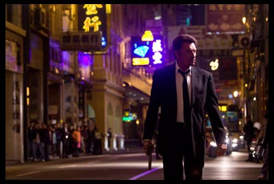 Johnny Halliday in Vengeance, di Johnnie To