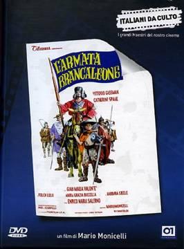 l'armata brancaleone copertina dvd